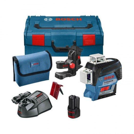 Bosch GLL 3-80 C + BM1 Universalhalterung + L-Boxx 136