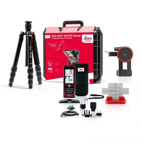 Leica Disto S910 P2P-Paket inkl. FTA 360-S und TRI 120