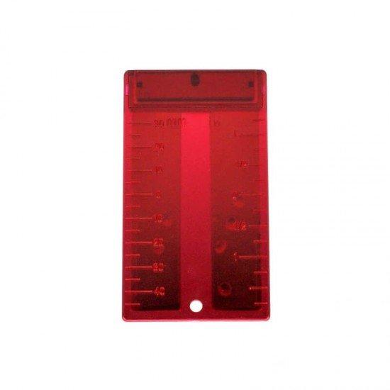 Magnetzieltafel Rot
