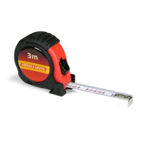 Swiss+Level Rollmeter 3m