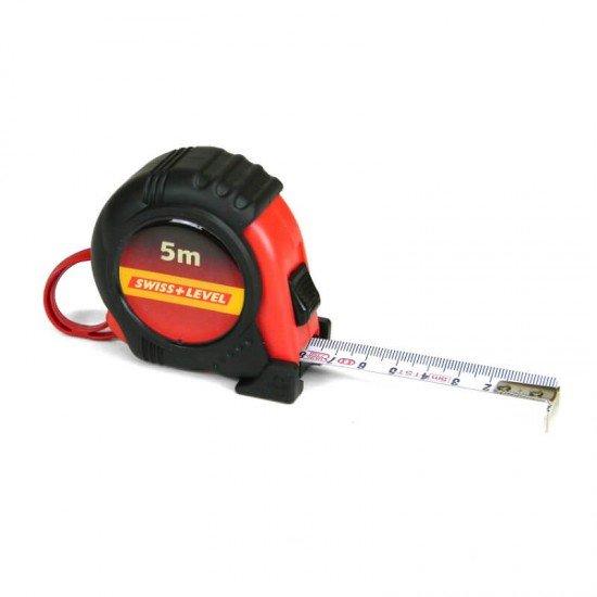 Swiss+Level Rollmeter 5m