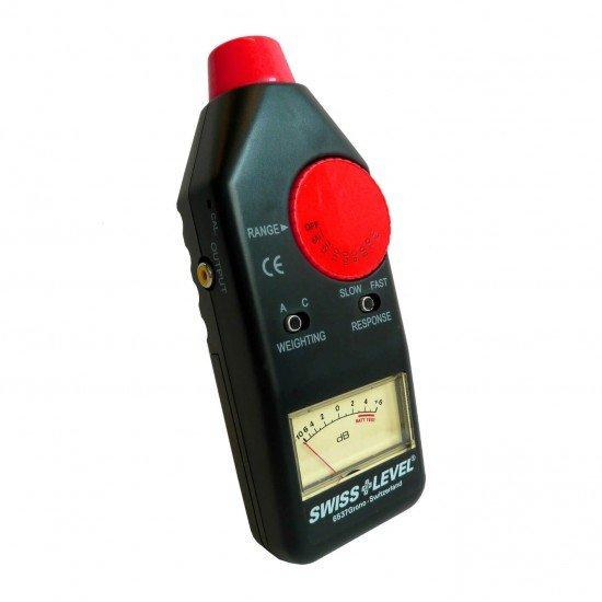 Swiss + Level Schallpegelmessgerät