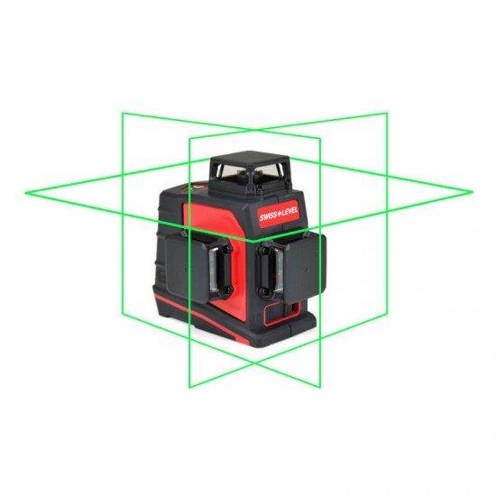 Swiss + Level Triliner 360 G Linienlaser grün
